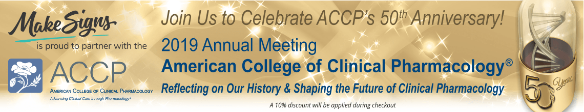 2019 Annual Meeting of the American College of Clinical Pharmacology®