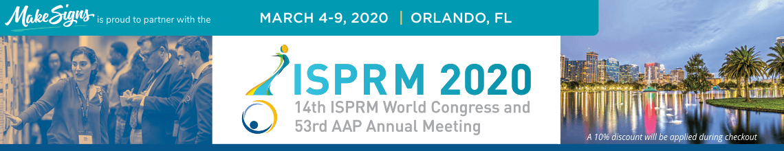 ISPRM 2020 - 14th ISPRM World Congress & 53rd AAP Annual Meeting