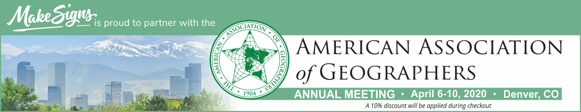 AAG (American Association of Geographers) Annual Meeting