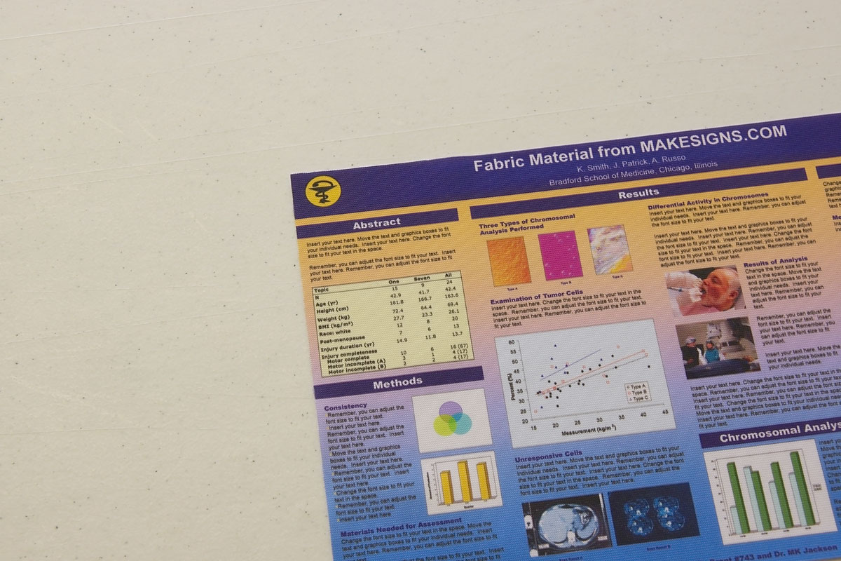 About Our Scientific Posters And Material Options