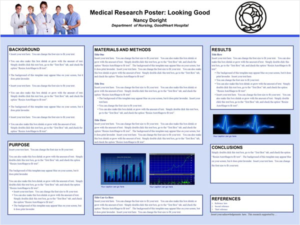 Research Poster Medical Research Poster Example Scientific Research